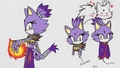 Blaze The Cat (Boom) - sonic-the-hedgehog fan art