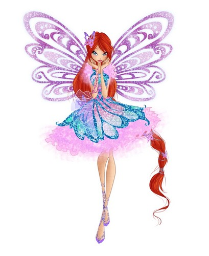 Winx Club hình nền called Bloom Butterflix Couture