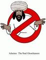 Busting Muhammad :) Je suis Charlie! - atheism fan art