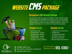 CMS Web design Dubai