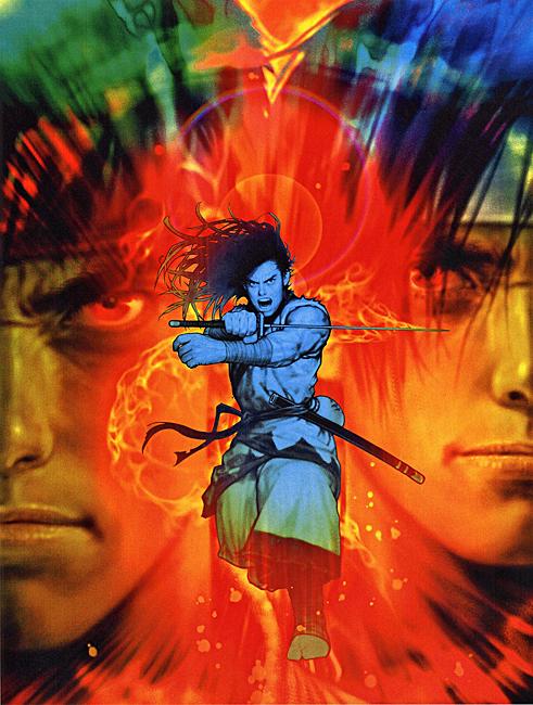 Capcom Vs Snk Images Capcom Vs Snk Ryu Kyo And Haohmaru Fond D