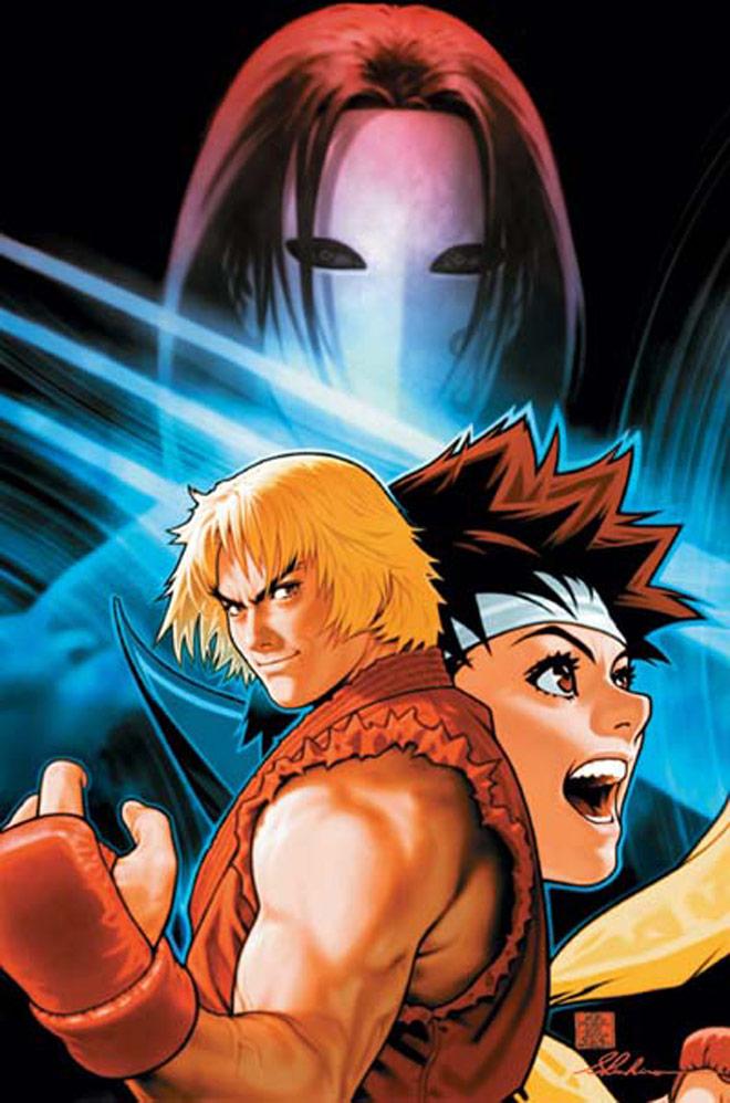 Capcom Vs Snk Picha Capcom Vs Snk Vega Ken And Sakura Hd Karatasi
