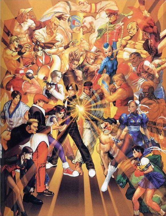Capcom Vs Snk Images Capcom Vs Snk Hd Wallpaper And Background