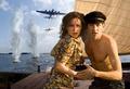 Carice van Houten as Rachel Stein and Michiel Huisman as Rob in Zwartboek / Black Book (2006)
