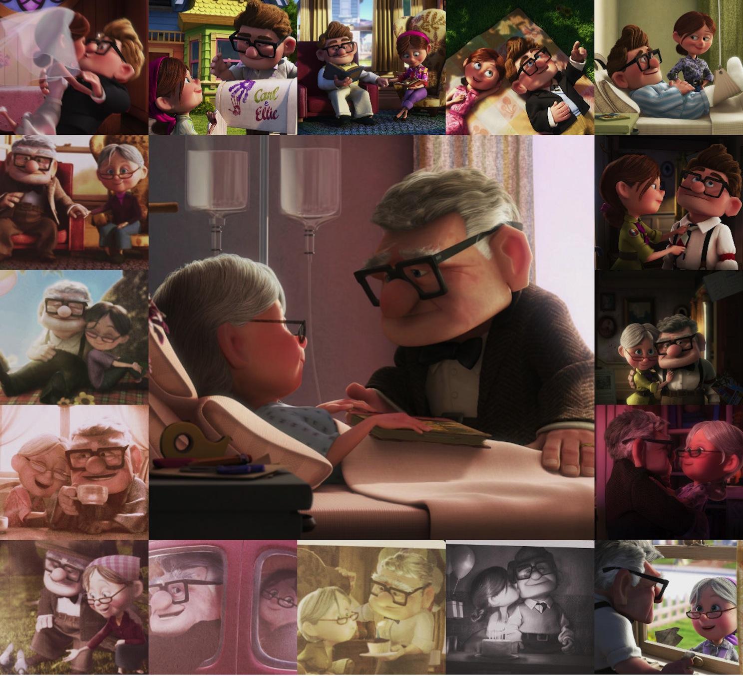 Disney•Pixar Images - Carl & Ellie