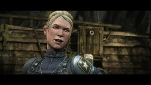 Cassie Cage, daughter of Johnny Cage and Sonya Blade