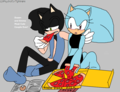 Chibi Dusan and Emma the hedgehog - sonic-fan-characters-recolors-are-allowed photo