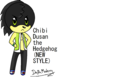 Chibi Dusan the Hedgehog (NEW STYLE) - sonic-fan-characters-recolors-are-allowed photo