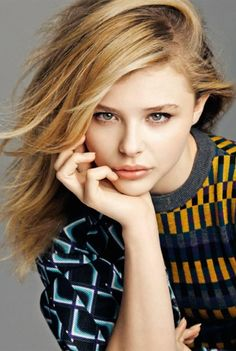 Chloe Moretz wallpaper containing a portrait called Chloe Moretz