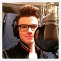 Chris in the studio for the last time - chris-colfer photo