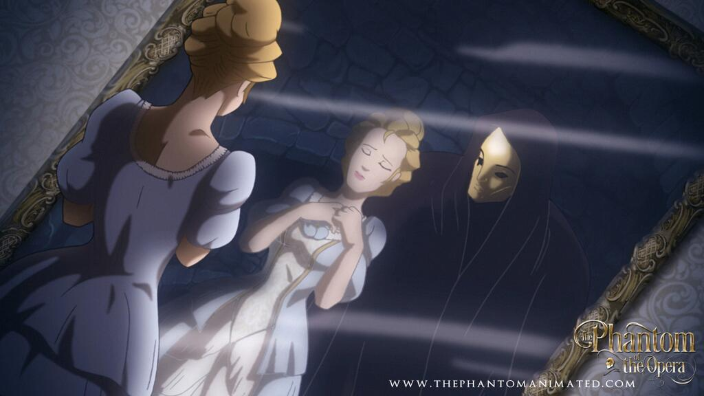 Christine Daae in The Phantom of the Opera Animated Feature