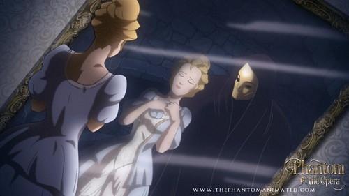 Childhood Animated Movie Heroines پیپر وال called Christine Daae in The Phantom of the Opera Animated Feature