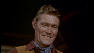 Chuck Connors as Burn Sanderson in Old Yeller