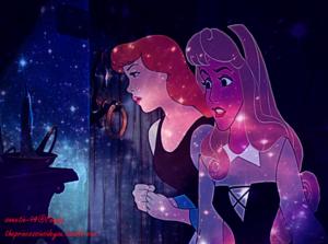 cinderella and Aurora