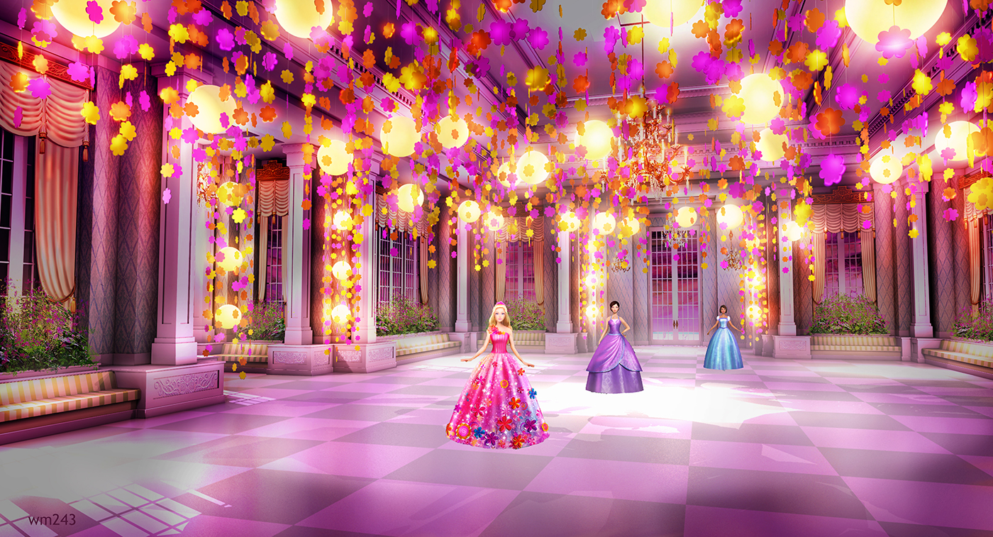 barbie movies images concept art of barbie and the secret door hd