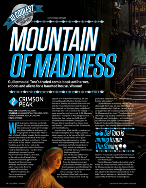 Crimson Peak, Total Film magazine