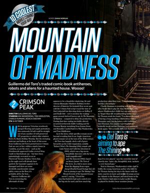 Crimson Peak, Total Film magazine