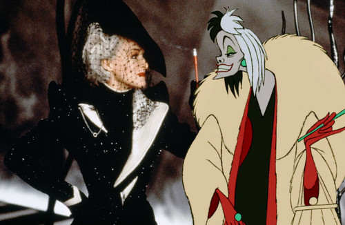 Disney Villains achtergrond possibly with anime entitled Cruella De Vil
