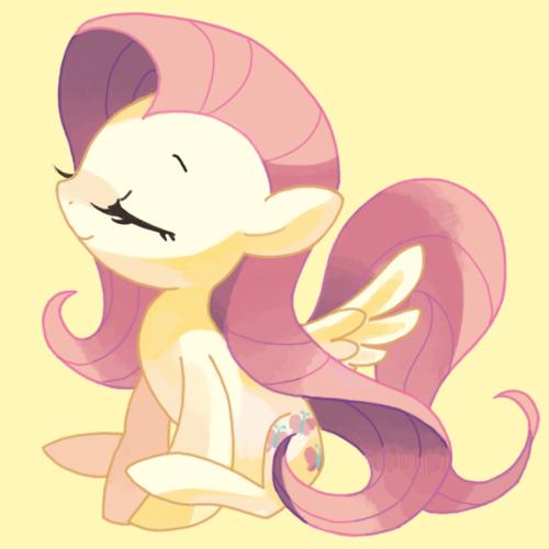 My little pony fluttershy cute - photo#6