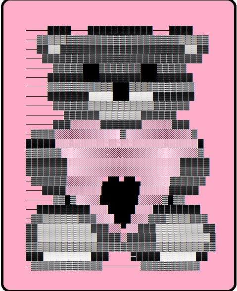 Cute emoji Bear