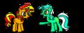 DID YOU'VE EVER SEEN HUMANS?! - my-little-pony-friendship-is-magic fan art