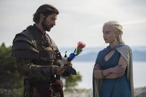Daario Naharis and Daenerys Targaryen