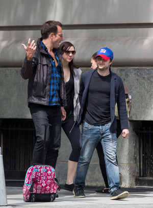 Daniel Radcliffe,Erin & Will Arnett Enjoying Outing in NewYork! (FB.com/DanielJacobRadcliffeFanClub)