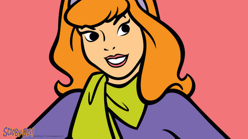 Scooby-Doo achtergrond with anime called Daphne