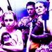 Daryl, Carol and Sophia - daryl-dixon icon