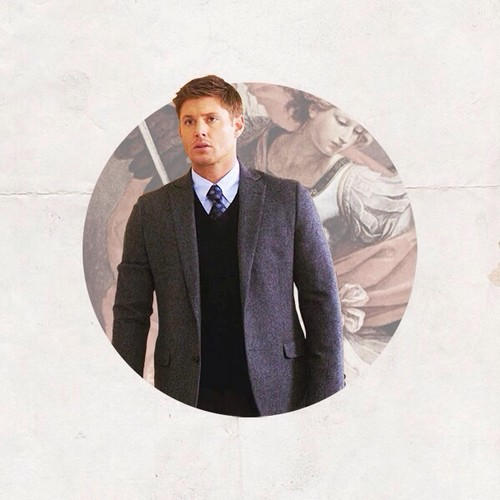 Supernatural wallpaper possibly with a business suit and a well dressed person called Dean Winchester