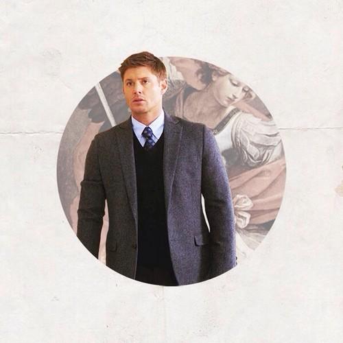 スーパーナチュラル 壁紙 possibly containing a business suit and a well dressed person entitled Dean Winchester