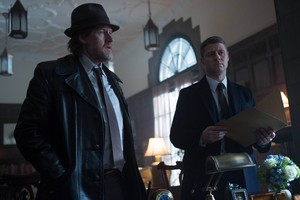 "Donal Logue as Detective Harvey Bullock in Gotham - ""The Scarecrow"""