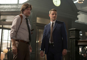 "Donal Logue as Detective Harvey Bullock in Gotham - ""Welcome Back, Jim Gordon"""