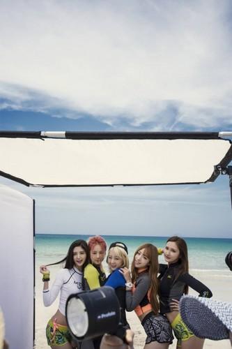EXID (이엑스아이디) fondo de pantalla called EXID in Jeju Island