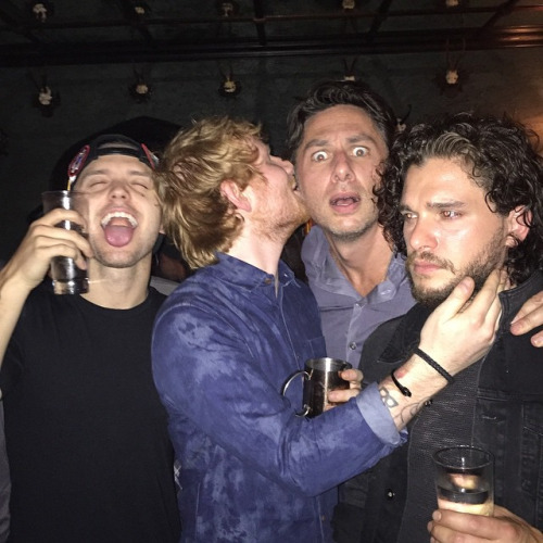 Ed and friends