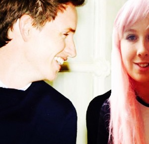 Eddieredmayne and girlfriend