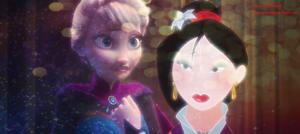 Elsa and mulan
