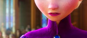 Elsa + freckles