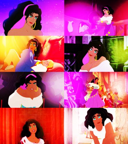 Disney Extended Princess Hintergrund called Esmeralda