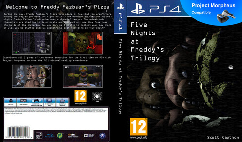Five Nights at Freddy's kertas dinding possibly containing Anime called FNAF PS4