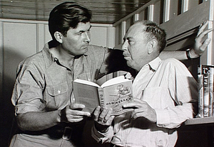 Fess Parker and Fred Gipson