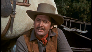 Fess Parker as Jim Coates in Old Yeller