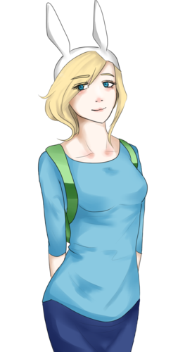 Adventure Time hình nền possibly with a leotard, tights, and a bustier, nịt entitled Fionna The Human