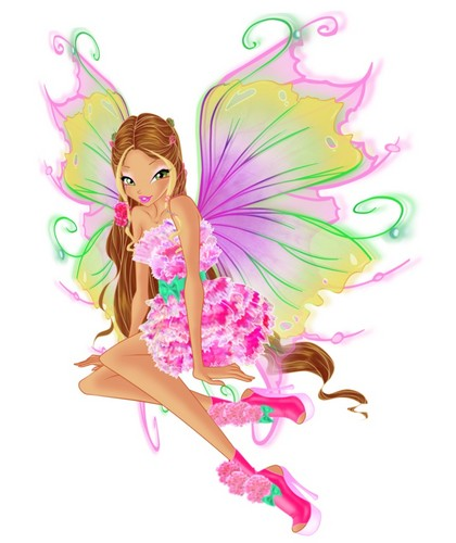 Winx Club hình nền entitled Flora Mythix