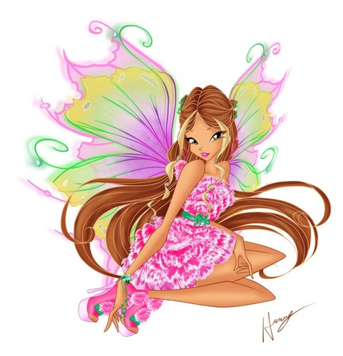 the winx club images flora mythix hd wallpaper and