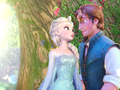 Flynn and Elsa
