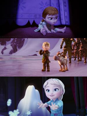 Холодное сердце Дети