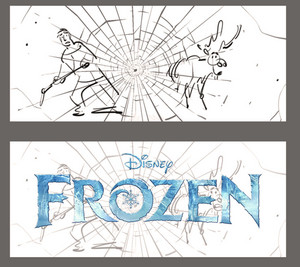 Frozen - Kristoff and Sven Hockey Storyboard