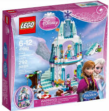 Frozen LEGO with Disney Princess Logo
