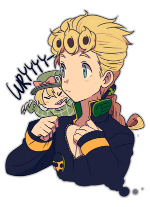 Giorno and Diego